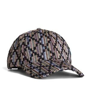 New BCBGeneration Textured Jacquard Baseball Cap